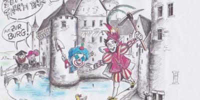 St. Vither Karneval und die Burg