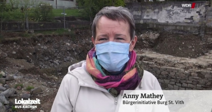 Anny Mathey in WDR-Lokalzeit